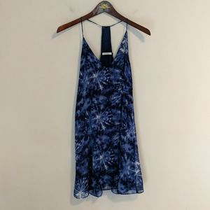 Three Eighty Two Navy and white dress